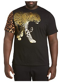MVP Collections Tiger Foil Graphic Tee