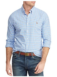 Polo Ralph Lauren Gingham Oxford Sport Shirt