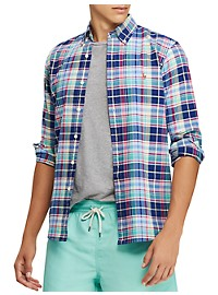 Polo Ralph Lauren Plaid Oxford Sport Shirt