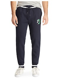 Polo Ralph Lauren Double-Knit Graphic Joggers
