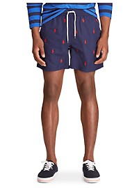 Polo Ralph Lauren Allover Pony Traveler Trunks