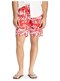 Polo Ralph Lauren Kailua Coral Swim Trunks
