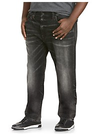 True Religion Geno Straight Fit Stretch Jeans