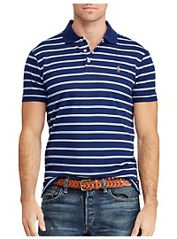 Polo Ralph Lauren Stripe Pima Cotton Polo Shirt