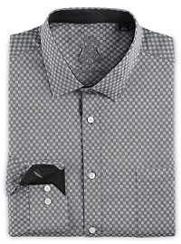 English Laundry Medium Check Dress Shirt