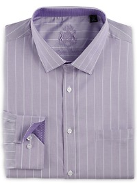 English Laundry Wide Stripe Dress Shirt