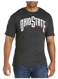 Retro Brand Ohio State Black T-Shirt