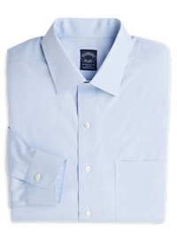 Brooks Brothers Non-Iron Pinpoint Dress Shirt