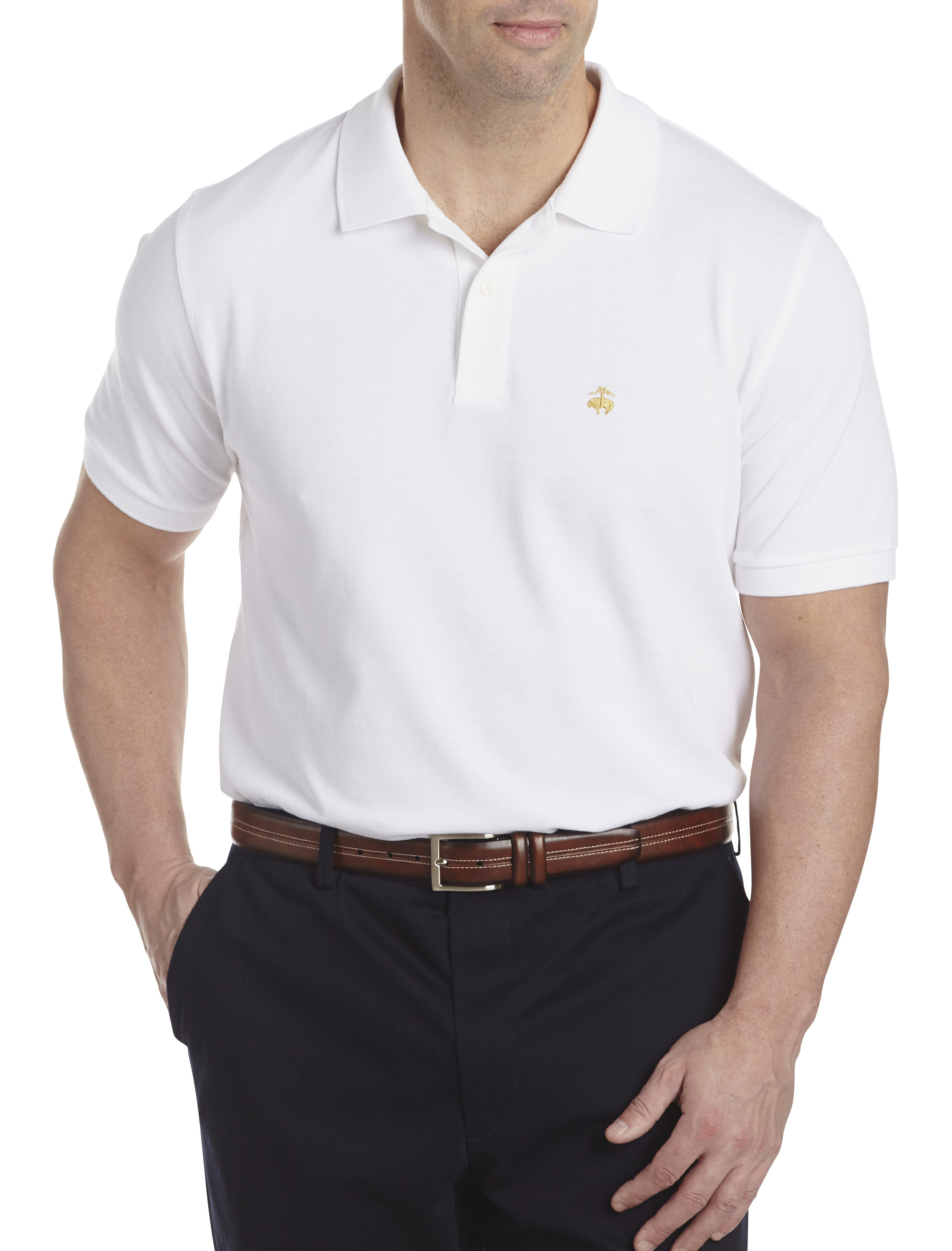 Brooks Brothers® Solid Piqué Polo