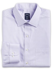 Brooks Brothers Non-Iron Gingham Dress Shirt