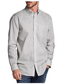 Cutter & Buck Epic Easy-Care Tattersall Sport Shirt