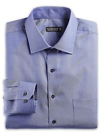 Rochester Non-Iron Chambray Dress Shirt