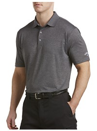Callaway Solid Heathered Polo Shirt