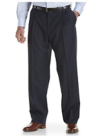 Ballin Comfort-EZE Pleated Dress Pants – Unhemmed