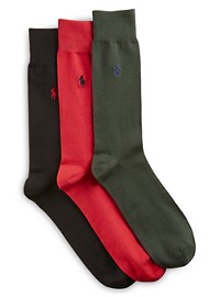 Polo Ralph Lauren 3-pk Supersoft Socks