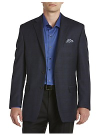 Ralph by Ralph Lauren Comfort Flex Windowpane Wool Sport Coat