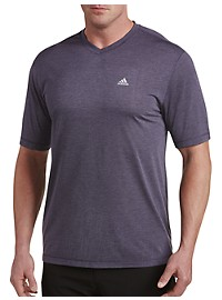 adidas Golf V-Neck Performance Tee