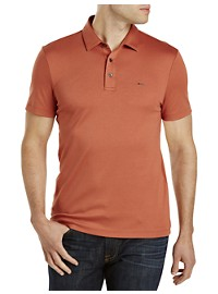 Michael Kors Polo Shirt with Metal Buttons