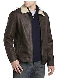 Nautica Jacket with Faux-Shearling Lining