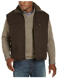 Rainforest Water-Repellent Sherpa Fleece Vest