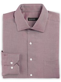 Rochester Non-Iron Mini Herringbone Dress Shirt