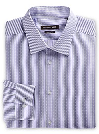Michael Kors Dobby Stripe Dress Shirt