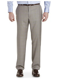 Michael Kors Sharkskin Plaid Suit Pants