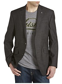 Ted Baker Tonal Check Wool Sport Coat
