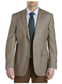 Jack Victor Mini Check Wool Sport Coat