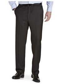 Ballin Comfort-EZE Textured Grid Dress Pants