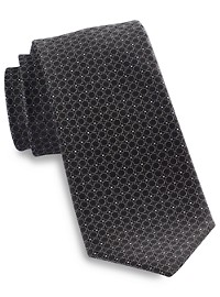 Rochester Small Box Mixed Neat Silk Tie