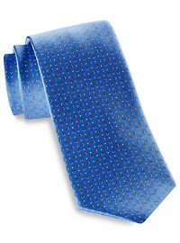 Michael Kors Neat Rings Silk Tie