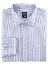 Brooks Brothers Non-Iron Double Stripe Dress Shirt