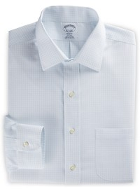 Brooks Brothers Non-Iron Graph Check Dress Shirt
