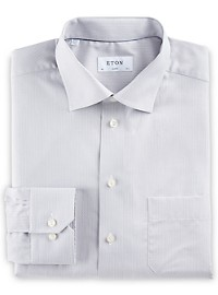 Eton Small Circle Geo Dress Shirt