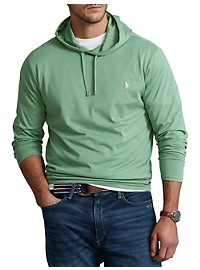 Polo Ralph Lauren Jersey Hooded Long-Sleeve Tee