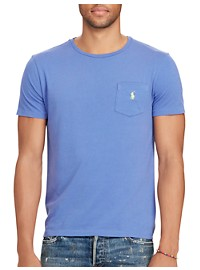 Polo Ralph Lauren Jersey Crewneck Pocket Tee