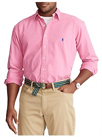 Polo Ralph Lauren Garment-Dyed Oxford Sport Shirt
