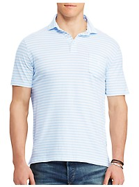 Polo Ralph Lauren Stripe Cotton Jersey Polo