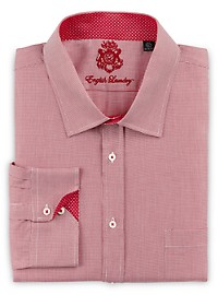 English Laundry Micro Check Dress Shirt