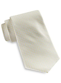 Rochester Repeating Square Neat Silk Tie
