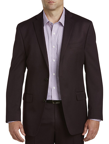 Big & Tall Michael Kors Tonal Suit Jacket