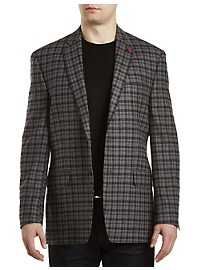 TailoRED Plaid Wool/Cashmere Sport Coat