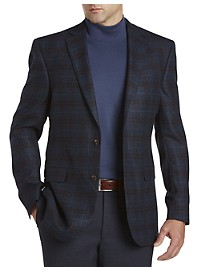 Jack Victor Plaid Wool Sport Coat