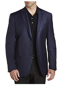 Jack Victor Gingham Wool Sport Coat