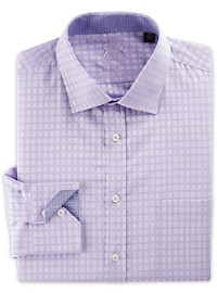 English Laundry Dobby Check Dress Shirt