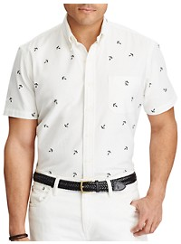 Polo Ralph Lauren Embroidered Anchor Oxford Sport Shirt