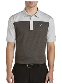 Callaway Opti-Dri Heather Colorblock Polo