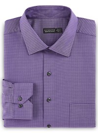 Rochester Non-Iron Tonal Houndstooth Dress Shirt