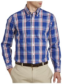 Brooks Brothers Non-Iron Plaid Regent Broadcloth Sport Shirt
